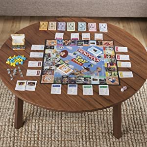monopoly game toy story edition, monopoly game; game for ages 8 and up; family game; toy story