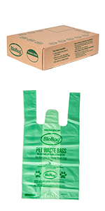Pet Waste Bags With Handles