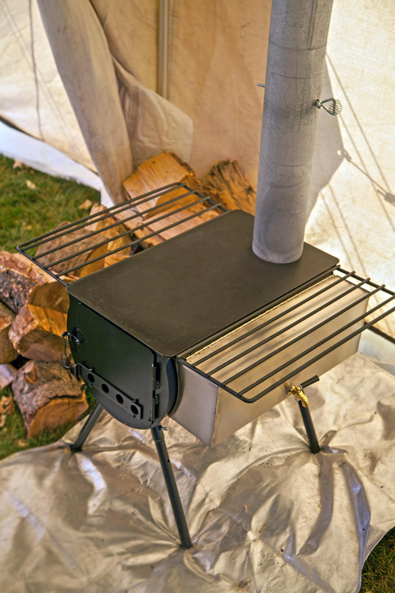 Camp Chef WT14 Cylinder Stove Hot Water Tank