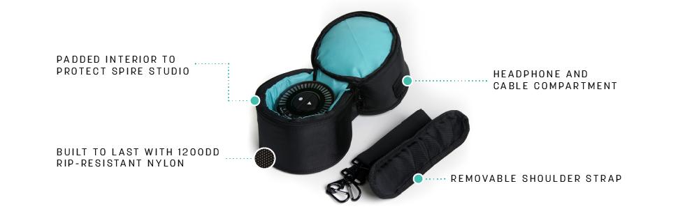 iZotope Spire Travel Bag, Black (SPIRETRAVELBAG)