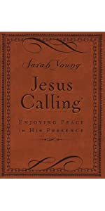 Jesus Calling, Brown Leathersoft