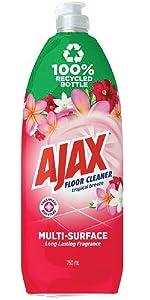 Ajax Tropical Breeze Floor Cleaner