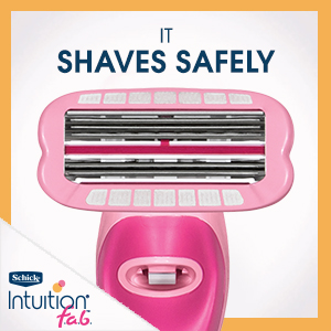 intuition f.a.b. fab womens razor up down shave refill cartridge