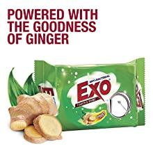 Powered with the goodness of Ginger