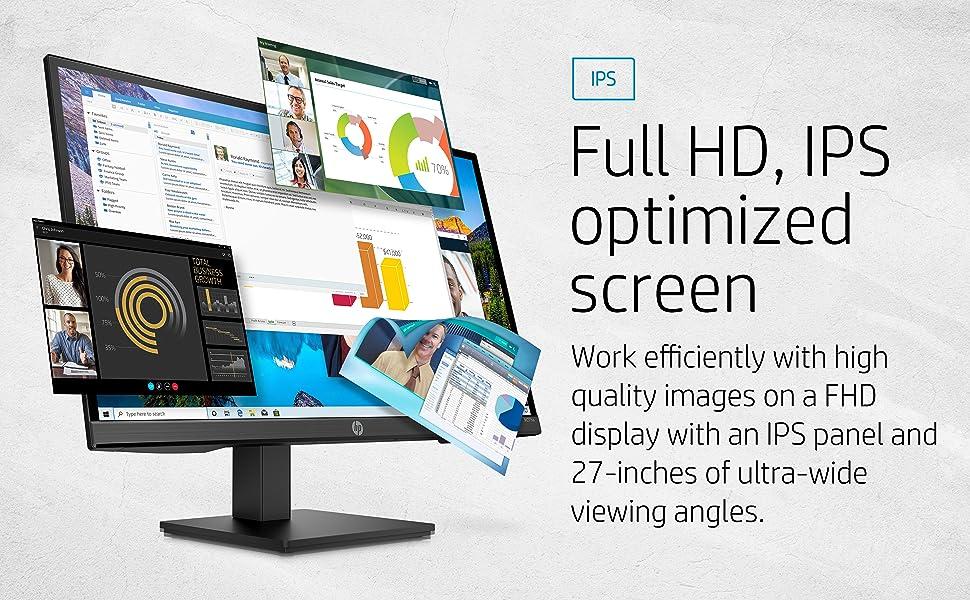 HP M27ha FHD Monitor IPS