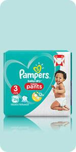 Pampers Baby-Dry Nappy Pants