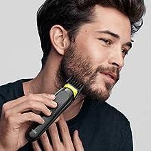 Lange baard trimmen