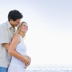 Schwangerschaft Paar Babybauch Geratherm