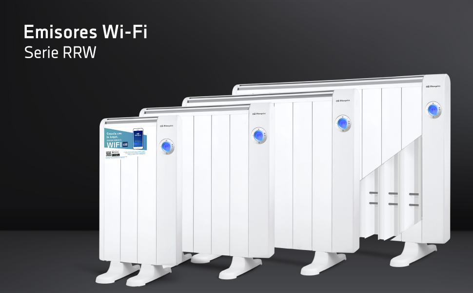emisor termico orbegozo, emisor termico wifi, calefaccion inteligente, emisor termico inteligente