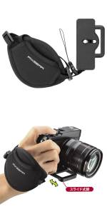 HAKUBA カメラストラップ ピクスギア グリップストラップST
