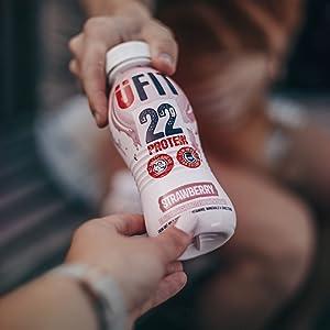 ufit, drinks, drink, protein, shake, healthy, slim, full