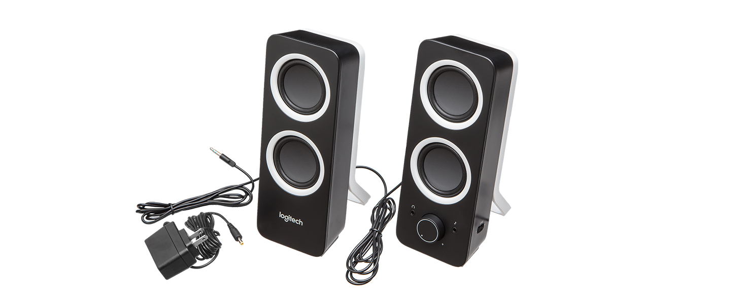 e5ca95d383e Amazon.com: Logitech Multimedia Speakers Z200 with Stereo Sound for ...