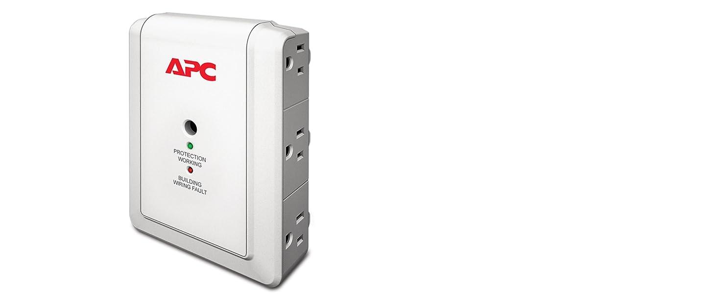 Best Surge Protectors 2020 Amazon.com: APC 6 Outlet Wall Surge Protector 1080 Joules
