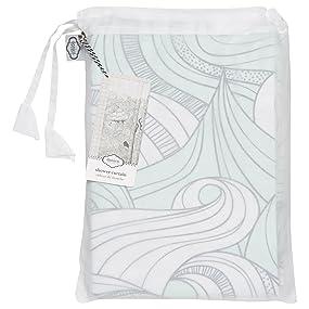 Reusable Shower Curtain Bag