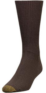 GOLDTOE Fluffies; sock; dress sock