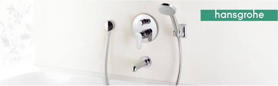 Hansgrohe 28537000 Croma 100 Vario ducha de mano, ahorro de agua ...