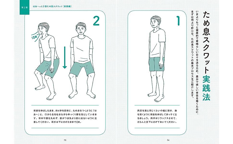 スクワット 実践法 鎌田實