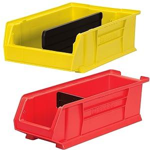 storage bins bin boxes stacking bins hanging ackro bins parts inventory stackable parts storage