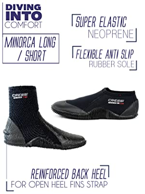 SNORKELING BOOTS, BOOTS FOR FINS, SCUBA BOOTS, CANNOPYING BOOTS, RIVER BOOTS