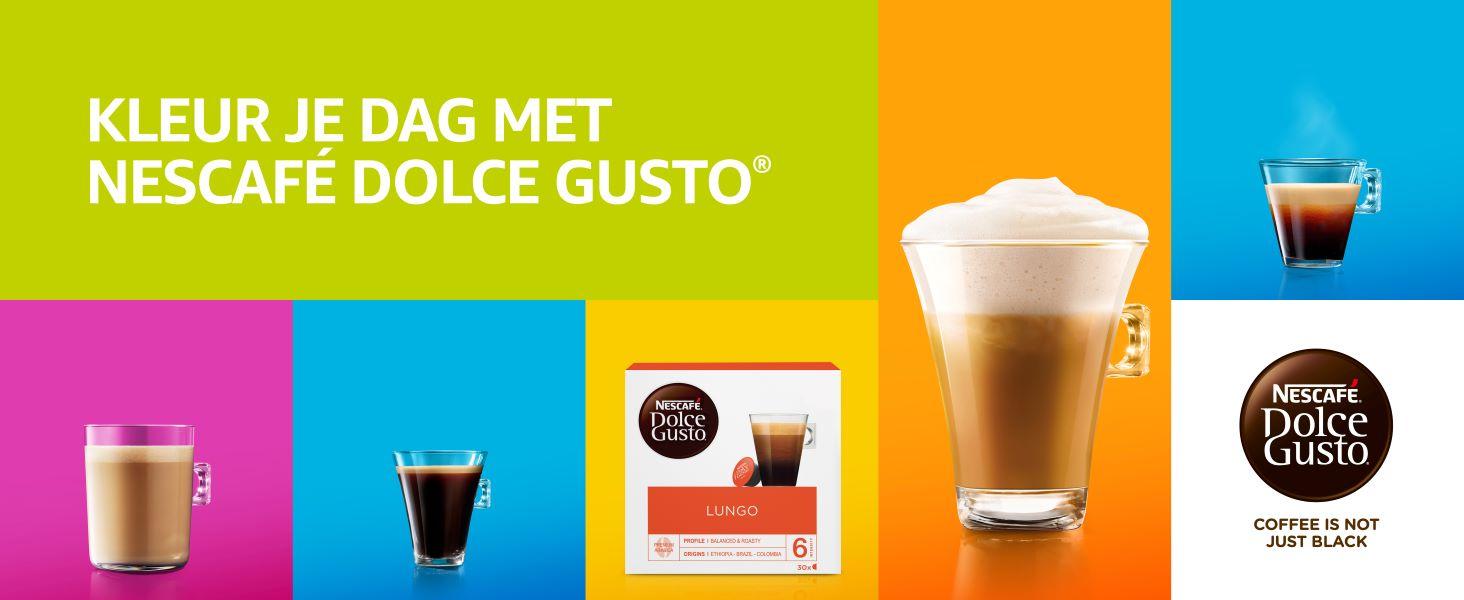 koffie, Nescafe, Dolce Gusto, koffie cups, koffiecups, lungo,