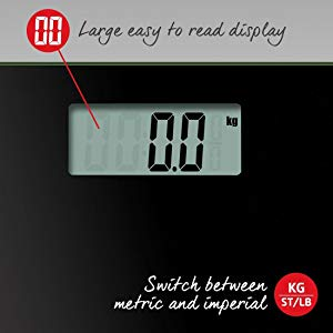 salter electronic digital bathroom scale easy to read large display