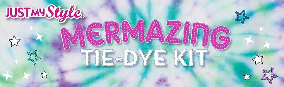 horizon group usa, tie dye, mermaid, tween, just my style, trends, trendy, trend, activity, summer