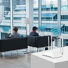 access point wireless network wifi dualbanc
