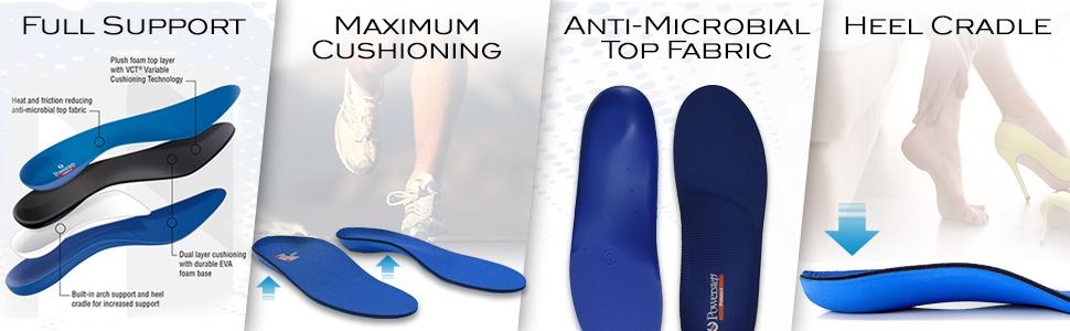 0337fbdde5 The insoles were designed by a podiatrist in 1992, who was also a foot  surgeon and runner. Seeing the need for a ready-to-wear orthotic that would  be more ...