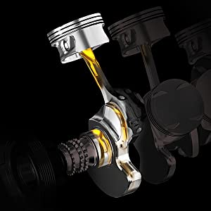 Mobil 1 High Mileage Provides Greater Engine Wear Protection