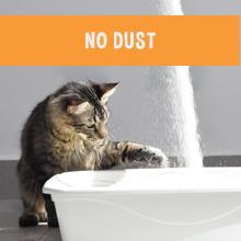 zero dust cat litter; no dust cat litter; Garfield Cat Litter; natural cat litter