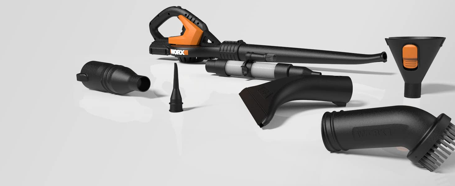 8 Cleaning Attachments Included