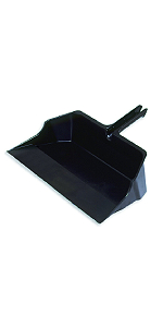 Black FG634100BLA Rubbermaid Commercial 8 Inch Counter Brush Tampico Fill For Rough Surface Sweeping