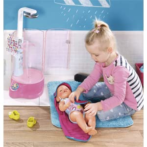 baby born, ducha, accesorios para el baño, muñeco bebe, bebe de juguete, accesorios baby born