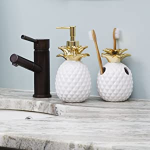 SKL Home by Saturday Knight Ltd Gilded Pineapple