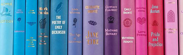word cloud classics, books, word clouds, canterbury classics