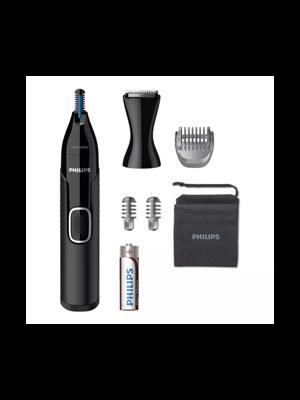 Nose trimmer series 5000 Näs-, öron-, ögonbryns- och precisionstrimmer NT5650/16