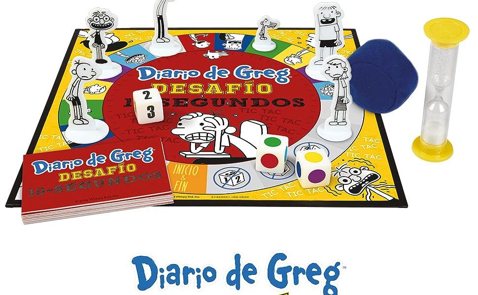 Diario de Greg: Desafío 10 Segundos: Amazon.es: Juguetes y juegos