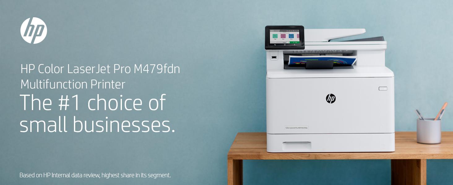 HP Color LaserJet Pro MFP M479fdn business multifunction printer moving forward work workload focus