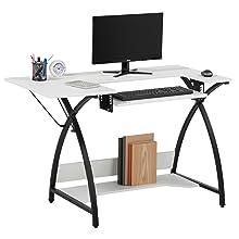 home office desk, computer desk, desk for bedroom, small spaces, modern desk