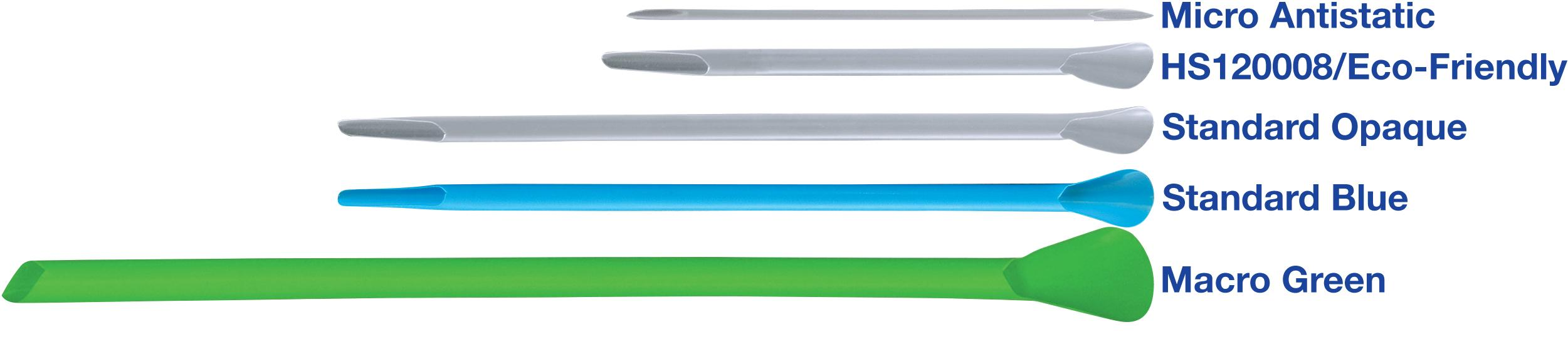 Heathrow Scientific HD120008 smartSPATULAS Disposable Spatula for 15 mL and 1.5 mL Tube 14 cm Length Pack of 300 Eco Opaque