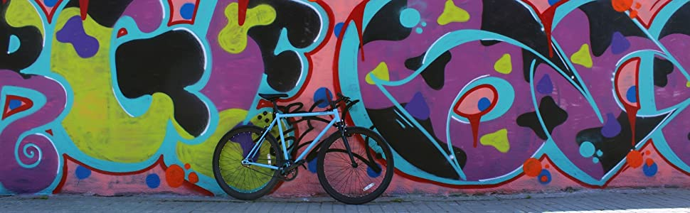 Moma Bikes Bicicleta Fixie Urbana, Fixie BeigeFixed Gear & Single Speed (Varias Tallas): Amazon.es: Hogar