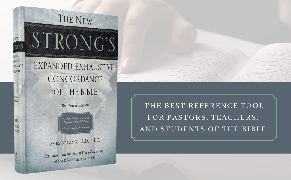 The best reference tool for pastors, teachers, and students of the bible.