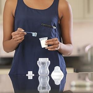 portable baby formula dispenser