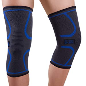 Knee Compression Sleeve Pain, Joint Pain, Arthritis Relief, Meniscus, Support for Running, Walking