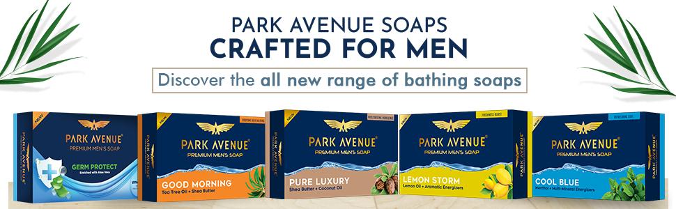 soaps for men. luxury soap, park avenue, soap for man, park avenue soap, best soap, shea butter