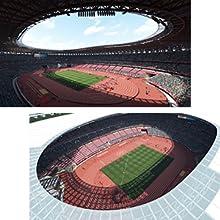 オリンピックスタジアムをはじめとした実際の競技会場をリアルに再現 ゲームソフト スポーツゲーム セガ