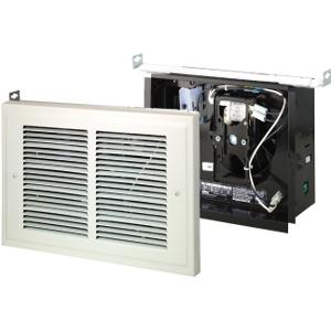 Broan 120 Wall Heater, 500/1000 Watt 120 VAC, White Grille