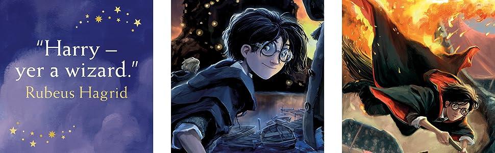 Harry Potter Complete Box Set, JK Rowling, Bloomsbury, Harry Potter