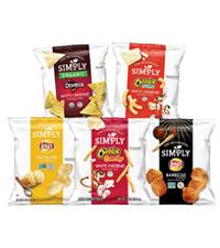 simply lays doritos cheetos white cheddar barbecue chips healthy snack alternative organic