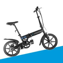 Motor brushless de 250w. Manillar bicicleta eléctrica. Bicicleta eléctrica plegable